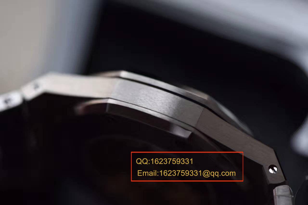 【视频解析】JF厂最高版本爱彼AP皇家橡树15450中性腕表-37MM/41毫米 / AP15450