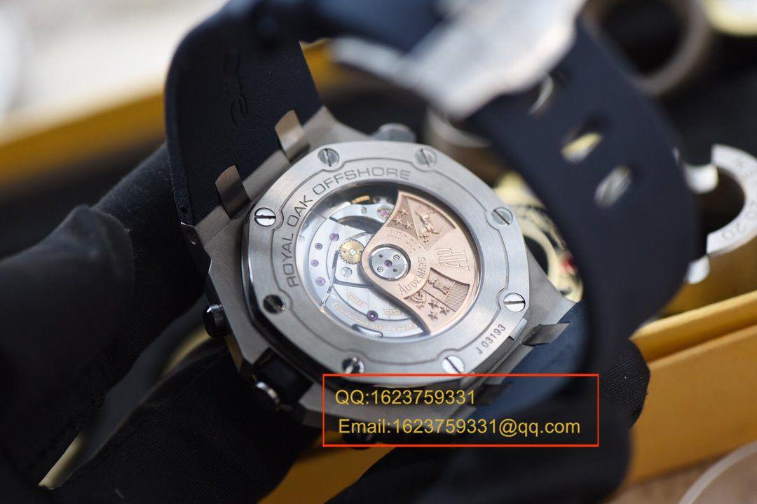 【JF厂1:1复刻超A高仿手表】爱彼皇家橡树离岸型系列26703ST.OO.A027CA.01《爱彼蓝莓》腕表 / APCB029