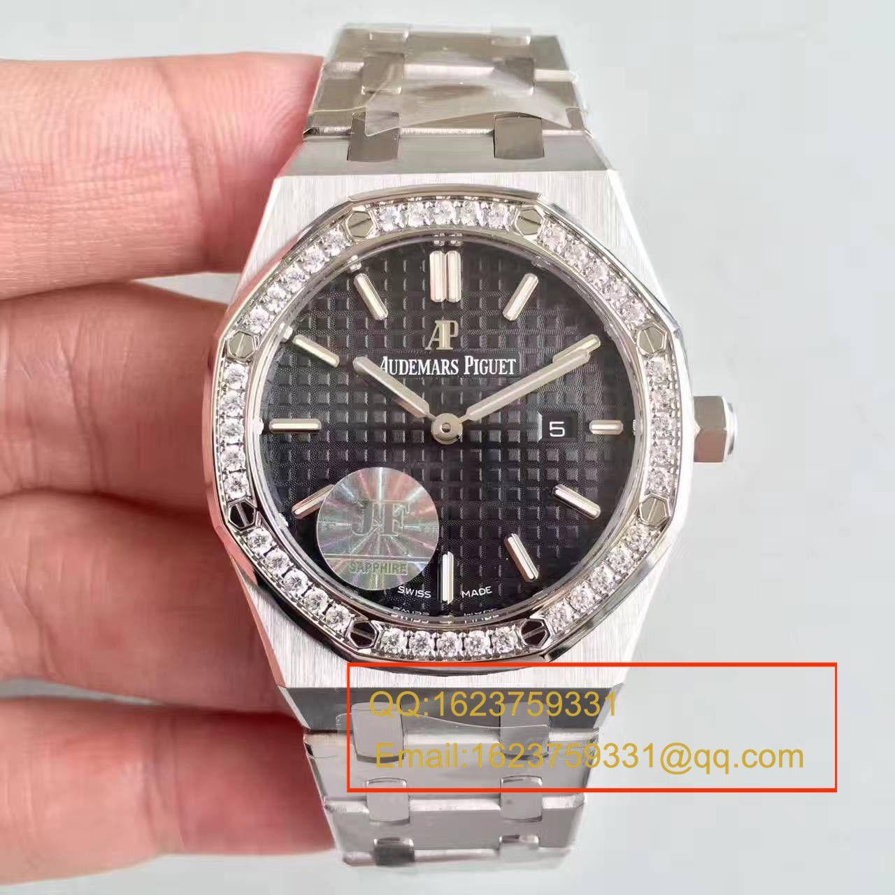 【视频解析1:1复刻手表】爱彼皇家橡树系列67651ST.ZZ.1261ST.01女装石英机芯 / APAD089