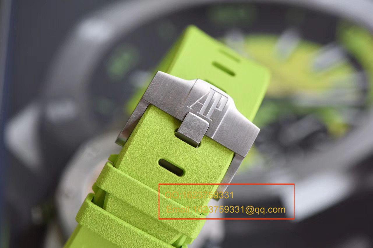 【JF厂一比一精仿手表】爱彼皇家橡树离岸型系列26703ST.OO.A038CA.01《青苹果》男士机械手表 / AP026