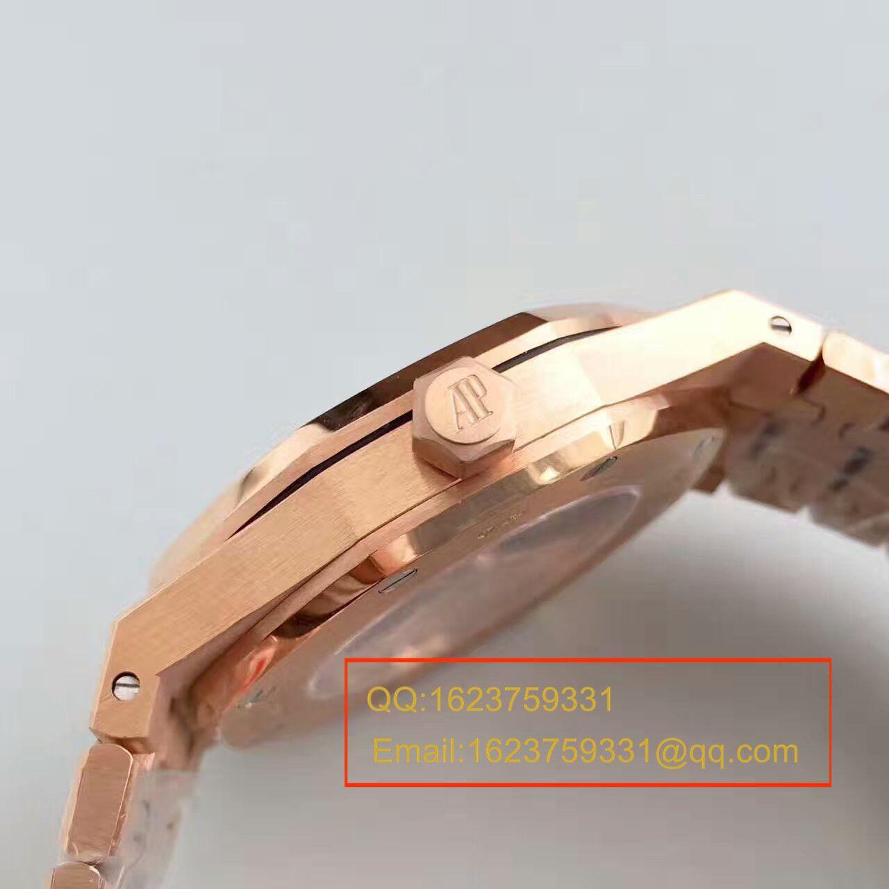 【JF厂复刻精仿手表】爱彼皇家橡树系列15450OR.OO.1256OR.01腕表 / AP018