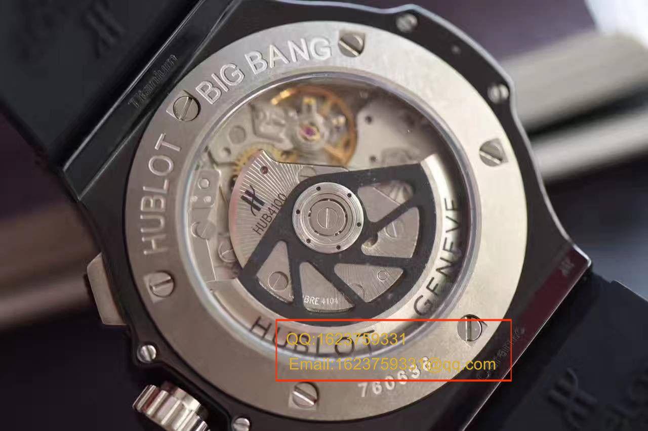 【V6厂一比一高仿手表】HUBLOT宇舶《恒宝》大爆炸BIG BANG系列301.CT.130.RX腕表 / YB034