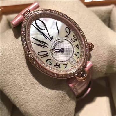 【顶级复刻、女性独享】Breguet宝玑那不勒斯皇后系列8918BR/58/864 D00D腕表