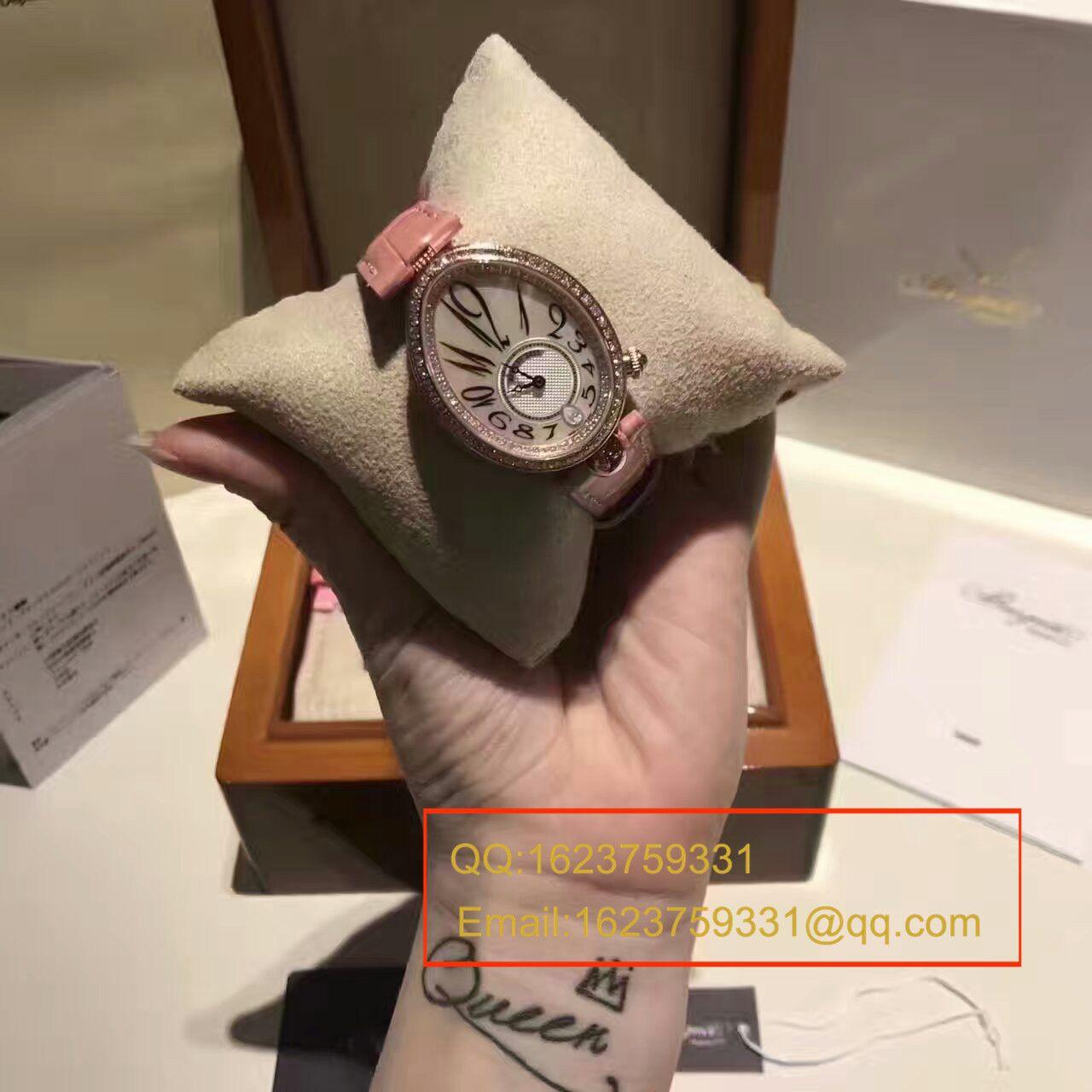 【顶级复刻、女性独享】Breguet宝玑那不勒斯皇后系列8918BR/58/864 D00D腕表 / BZ36