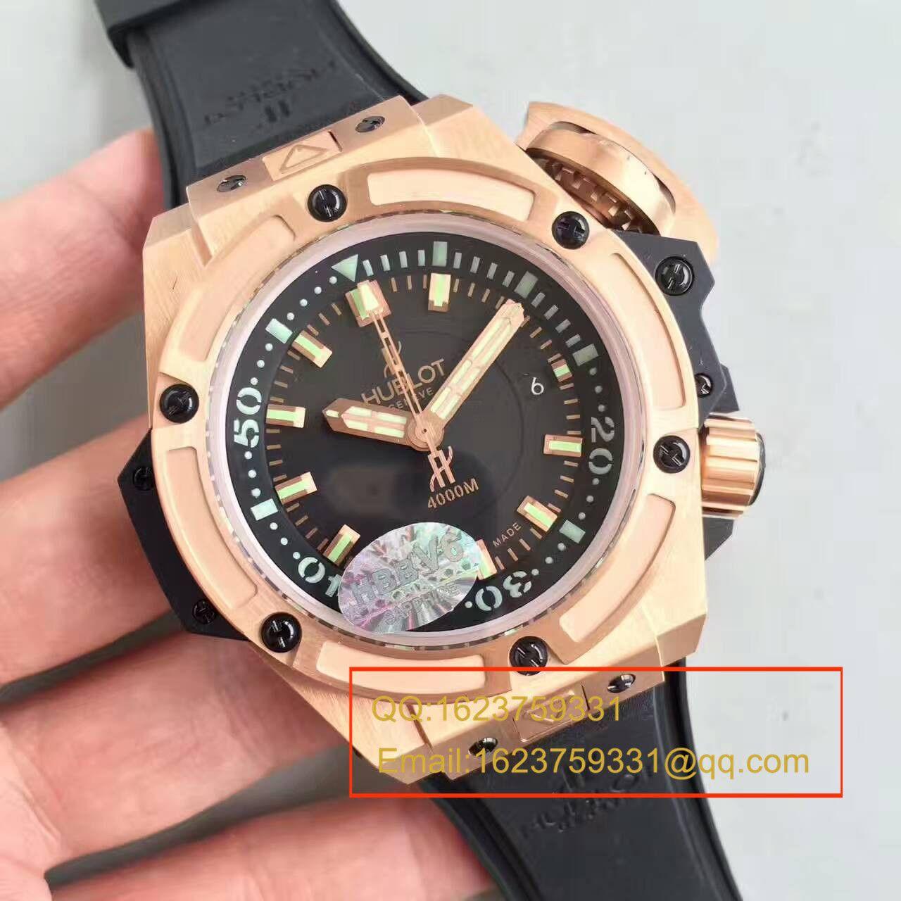 【HBBV6厂1:1顶级复刻手表】宇舶王者至尊系列4000M潜水王超级大怪兽731.OX.1170.RX腕表 / YP001