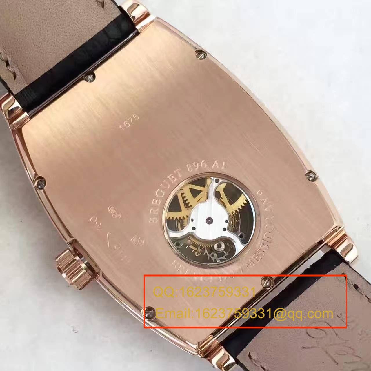 【BM厂1:1顶级精仿手表】宝玑传承系列5497BR/12/9V6腕表真陀飞轮机械手表《玫瑰金款》 / BJ021
