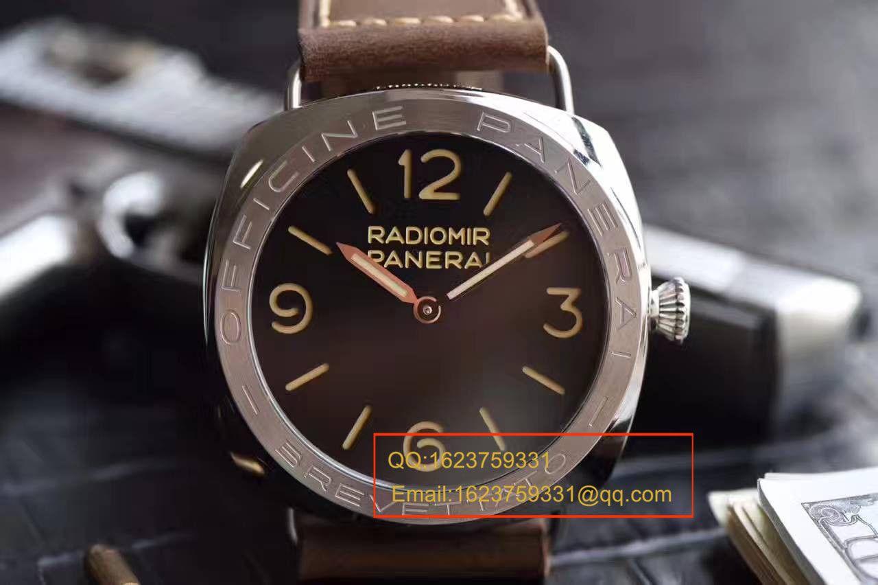 【视频测评SF一比一超A高仿手表】复古神器沛纳海RADIOMIR系列PAM00685腕表 / PAMBE00685