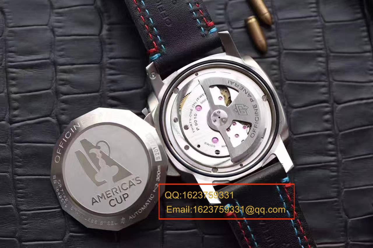 【视频评测SF厂1:1超A复刻手表】沛纳海LUMINOR 1950系列PAM00727腕表 / PAMB00727