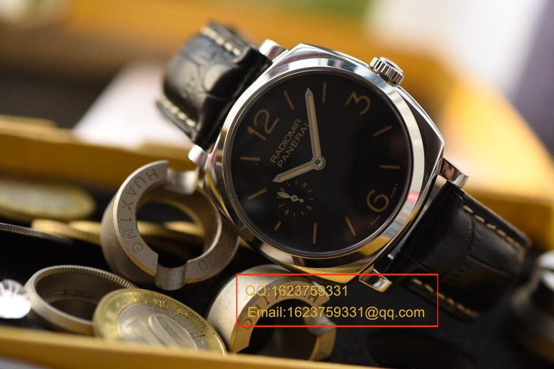 【视频评测KW一比一超A高仿手表】沛纳海RADIOMIR 1940系列PAM 00512腕表 / KWPAMAG00512
