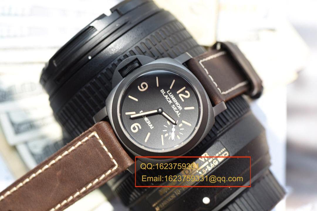【视频评测KW厂1:1复刻手表】沛纳海限量珍藏款系列PAM00786A左撇子 / KWPAMAG00786A