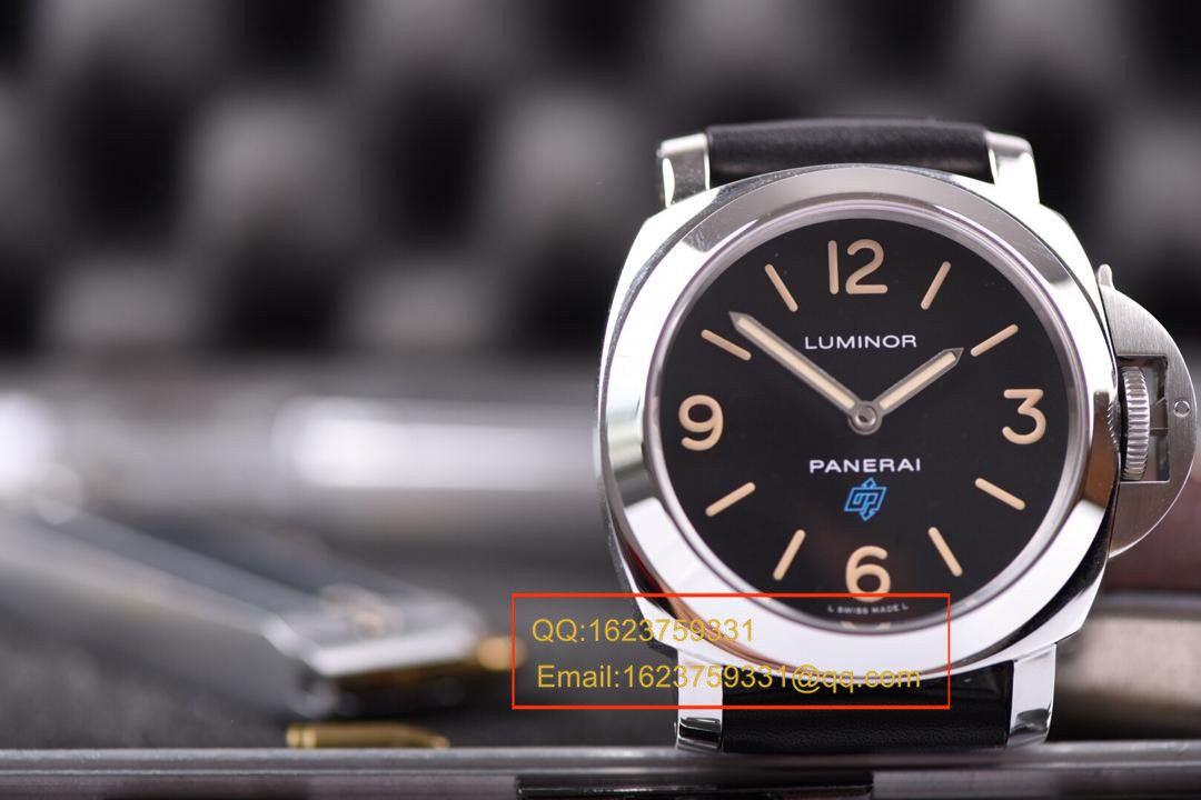 【视频评测KW厂1:1精仿手表】沛纳海Luminor Base Logo Acciaio15周年限量版PAM00634 / PAMAE00634