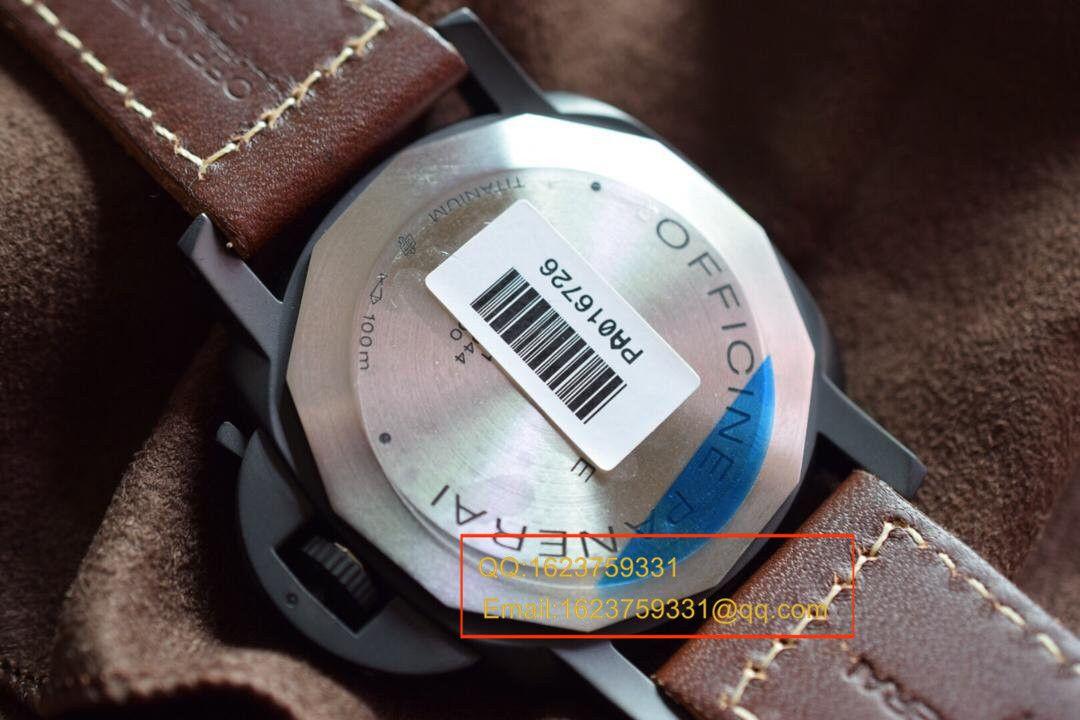 【视频评测KW超A高仿手表】沛纳海限量珍藏款系列泡泡镜 PAM00629腕表 / KWPABA065
