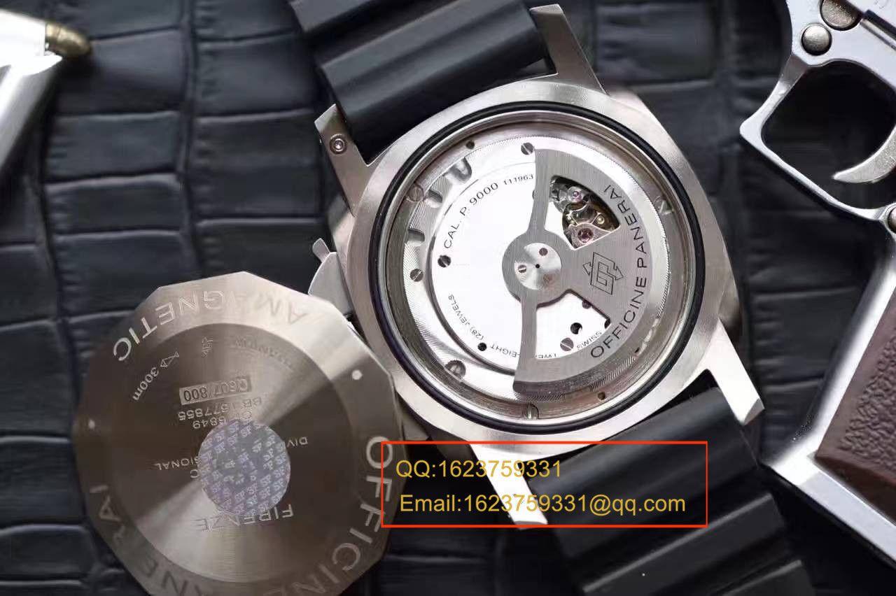 【视频评测SF厂1:1超A精仿手表】沛纳海LUMINOR 1950系列PAM00389腕表 / SFPAMBB00389