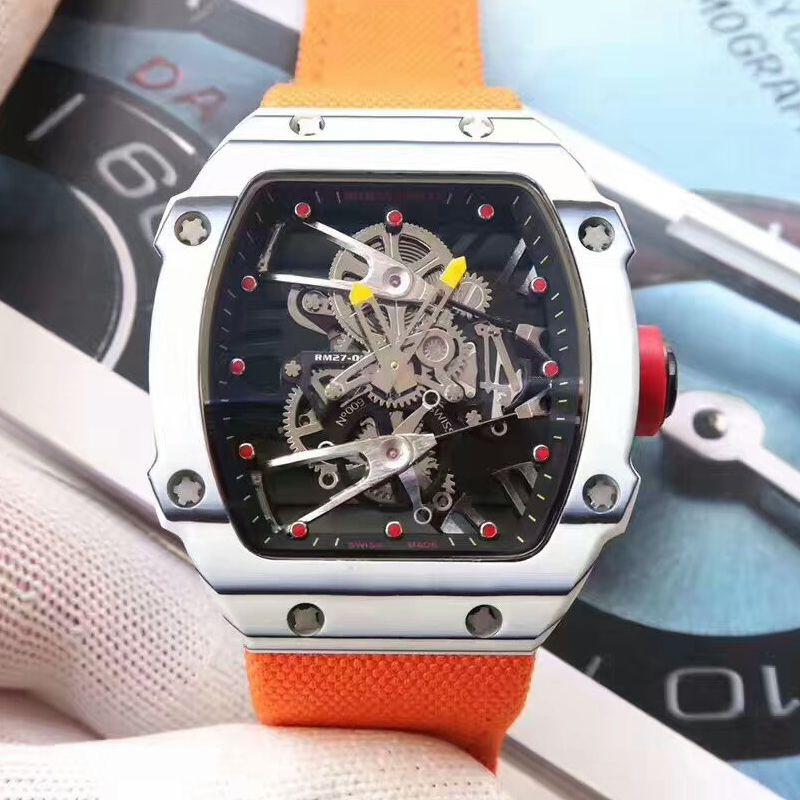【RM厂一比一超A高仿手表】理查德.米勒RICHARD MILLE男士系列RM 27-02腕表