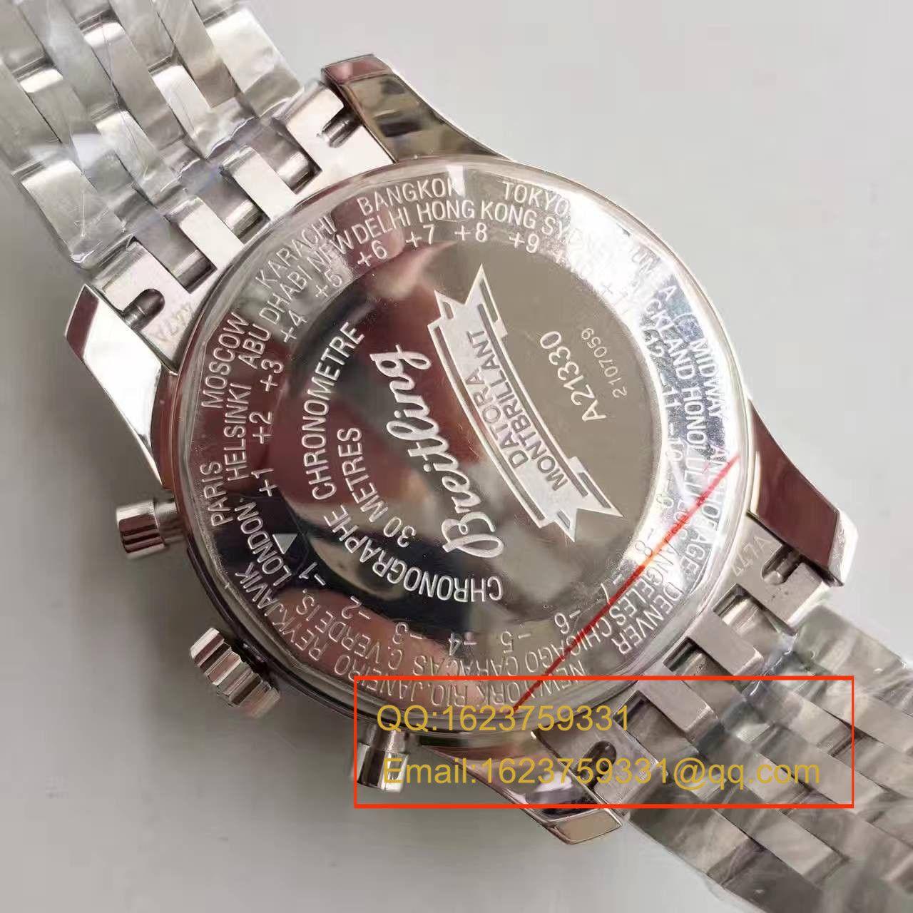 【JF一比一顶级复刻手表】百年灵蒙柏朗计时系列A2133012-B571黑盘腕表 / BL041.1