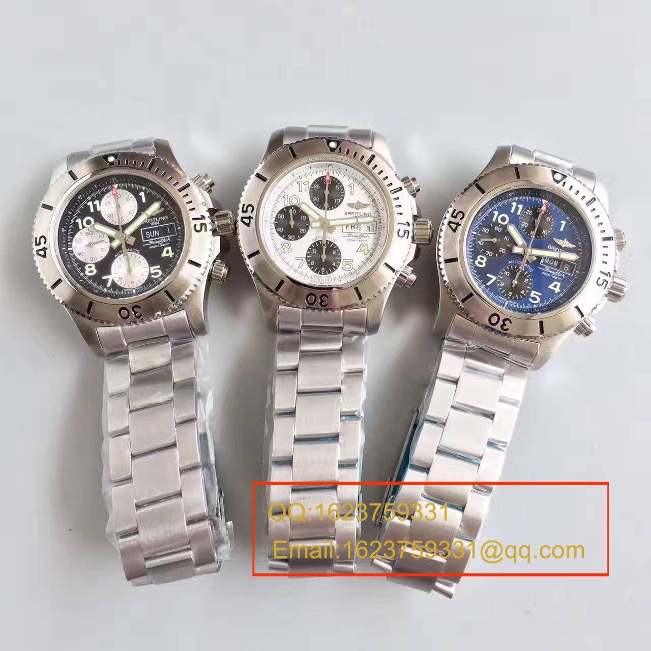 【GF一比一超A高仿手表】百年灵超级海洋系列A13341C3/G782/162A钢鱼计时腕表 / BL070