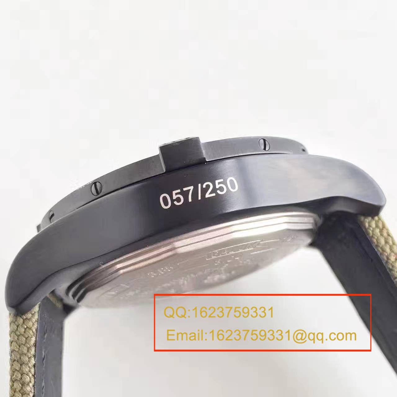 【GF1:1超A精仿手表】百年灵美军专用定制版复仇者Breitling USA military avenger II carbon fiber / BL012