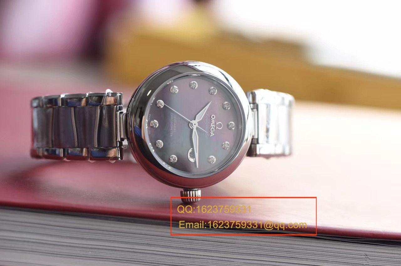 【HBBV6厂一比一超A高仿手表】欧米茄碟飞系列425.30.34.20.57.004鸟巢女士腕表 / M308
