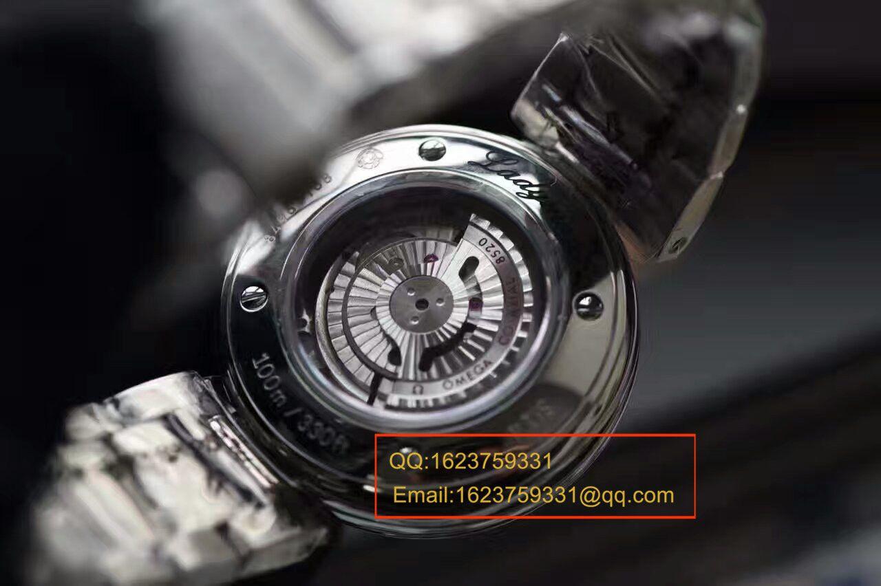 【HBBV6厂顶级复刻手表】欧米茄碟飞鸟巢系列425.30.34.20.55.002天然贝母面女士腕表 / M249
