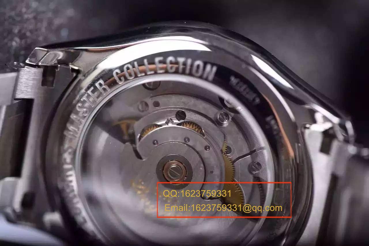 【视频评测YL厂1:1复刻手表】浪琴名匠系列名匠双历L2.755.4.78.6腕表 / LAF063