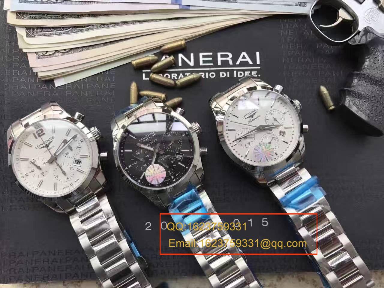 【视频评测YL厂1:1顶级复刻手表】浪琴康铂系列L2.786.4.76男表 / LAF053