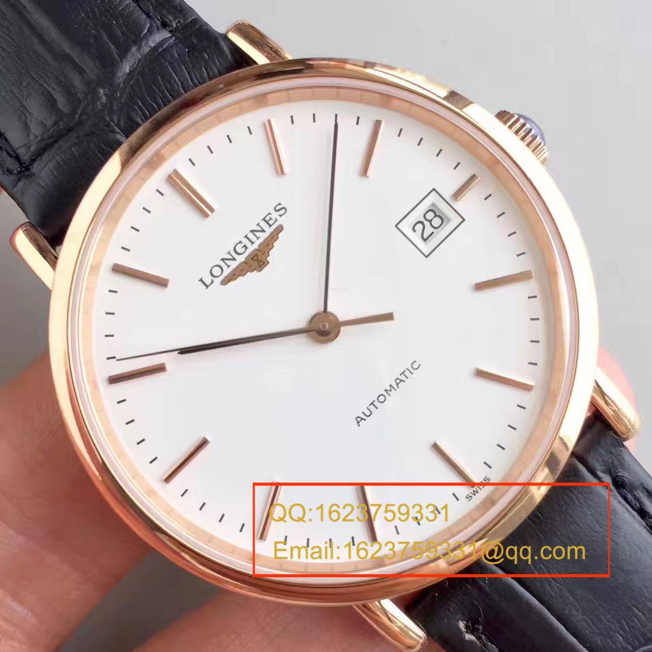 【台湾厂1:1超A精仿手表】浪琴博雅系列L4.787.8.12.0腕表 / L089