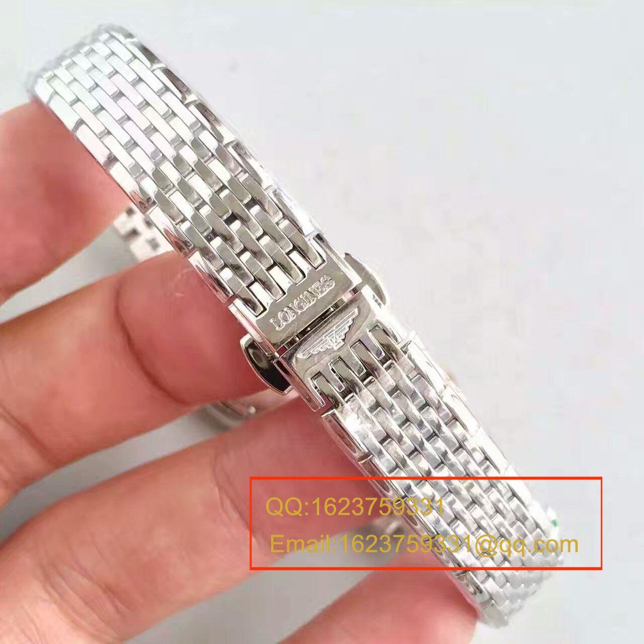 【MK厂超A高仿手表】浪琴优雅系列L4.209.4.11.6女士腕表 / L073