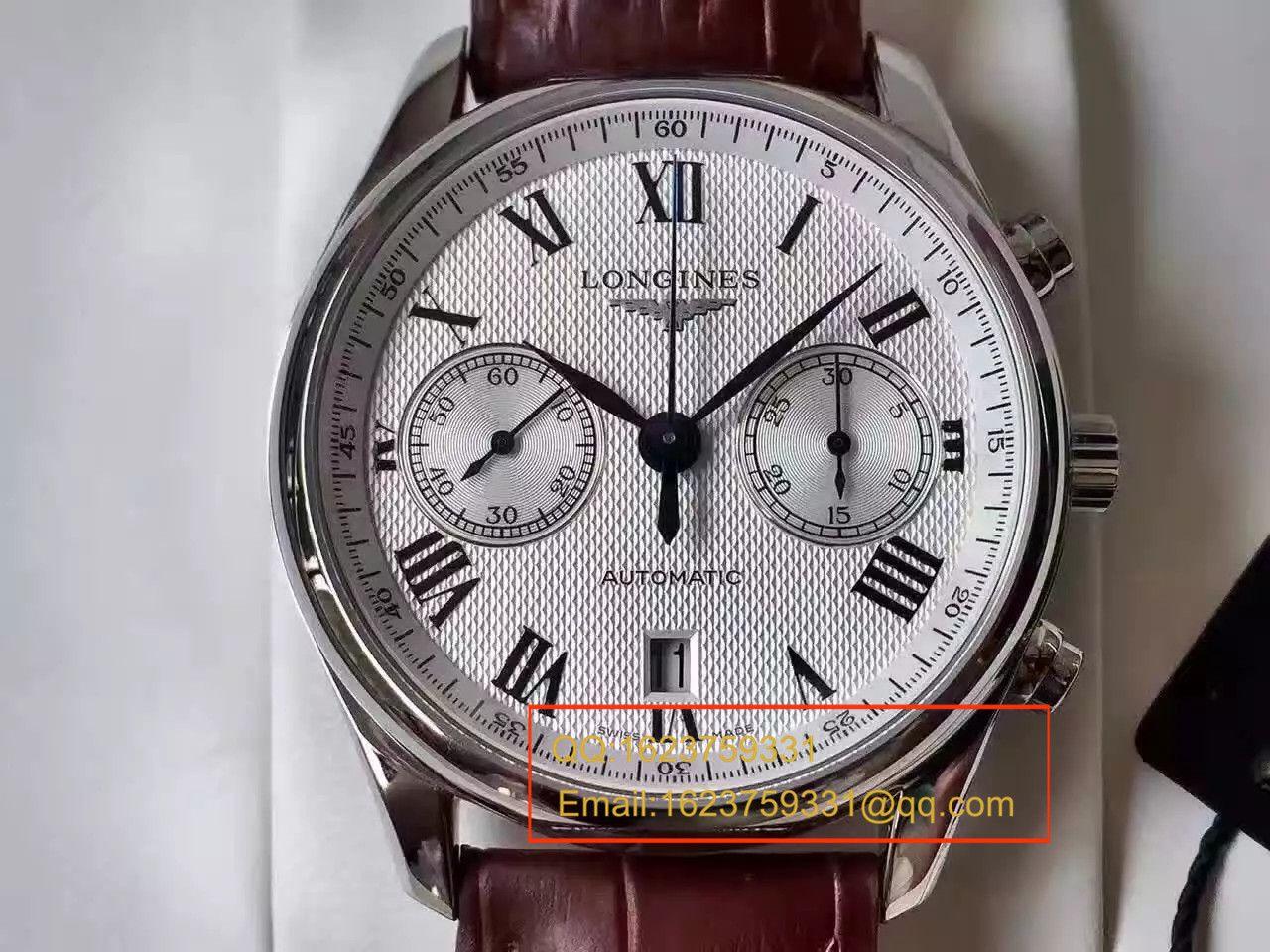 【TW厂台湾1比1超A高仿手表】浪琴制表传统名匠系列L2.629.4.78.3腕表 / L086
