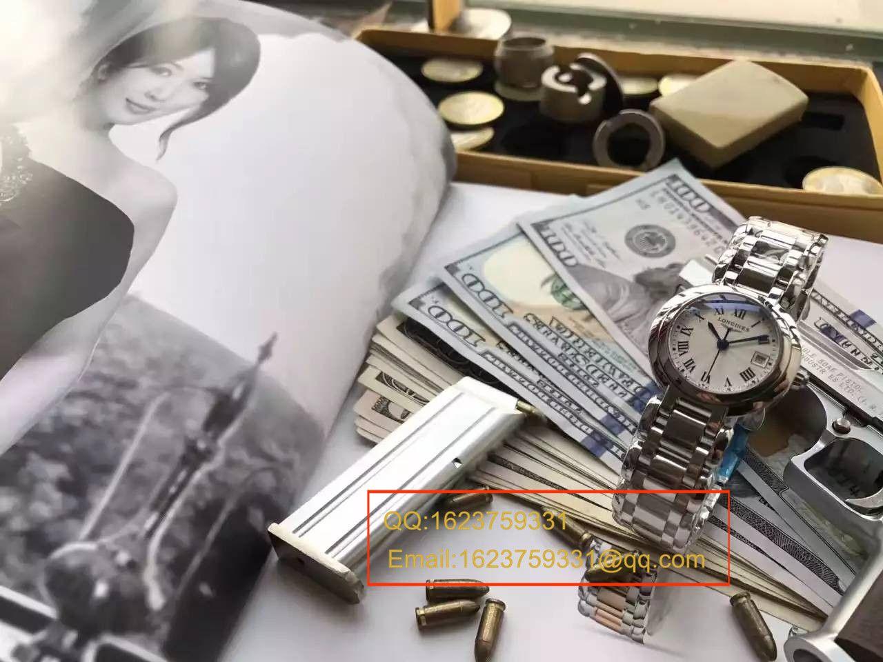 【实拍图鉴赏】台湾厂出品林志玲同款_浪琴心月系列女表精品媲美正品的做工 / L062