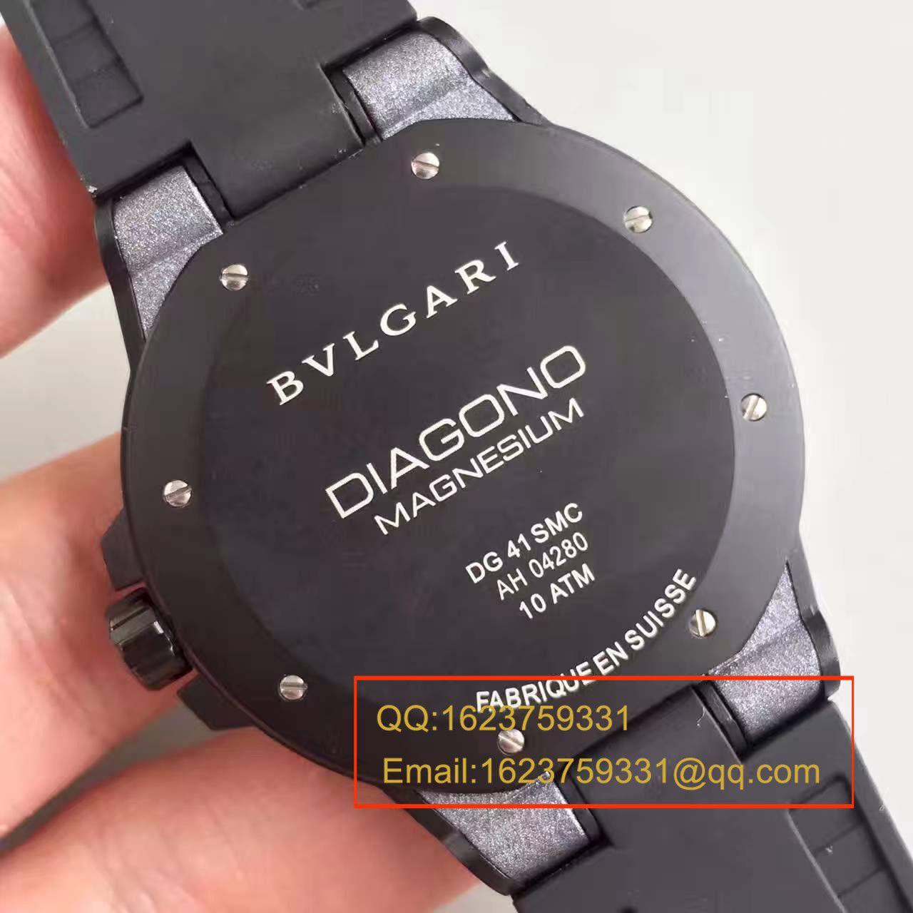 【GF厂一比一超A高仿手表】宝格丽DIAGONO系列102427 DG41C6SMCVD腕表 / BGB0016