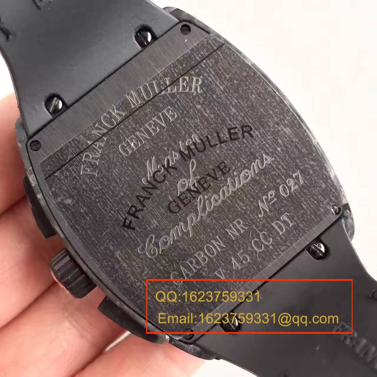 【视频评测LE一比一超A高仿手表】法兰克.穆勒Franck Muller NEW SARATOGE系列V 45 CC DT BLACK PXL腕表 / FL08