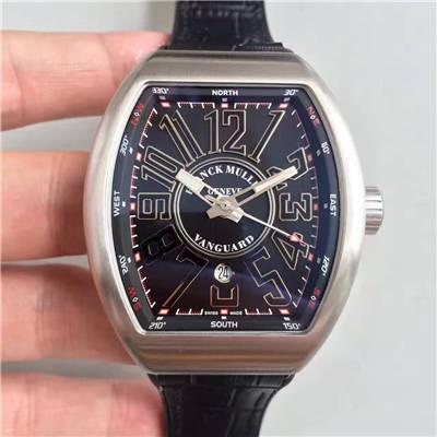 【FM一比一超A高仿手表】法兰克.穆勒VANGUARD系列V 45 SC DT腕表价格报价
