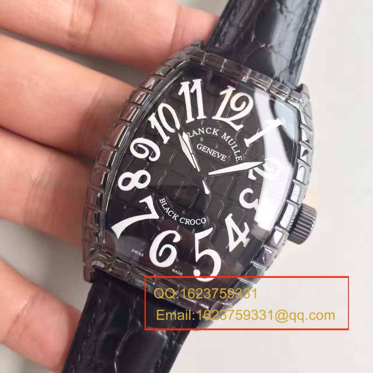 【FM一比一高仿手表】法穆兰BLACK CROCO系列8880 SC BLACK CROCO腕表 / FL14