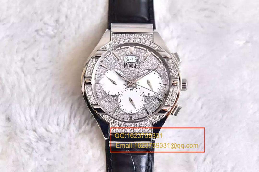 【实拍图鉴赏】BP厂顶级精仿手表之伯爵POLO系列G0A33039男表 / 伯爵BOJBI018