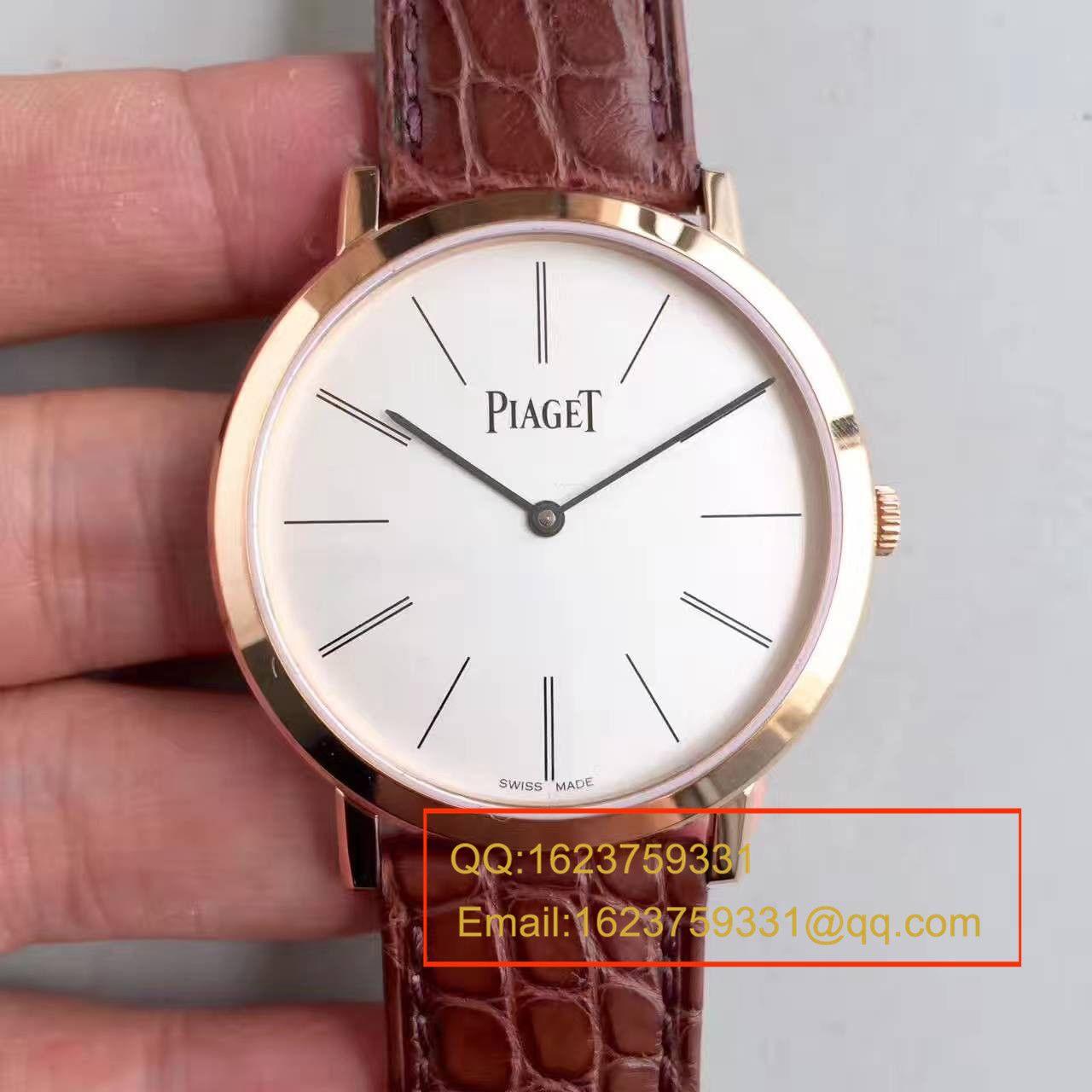 【台湾工厂1:1复刻手表】伯爵ALTIPLANO系列G0A31114腕表 / PT007