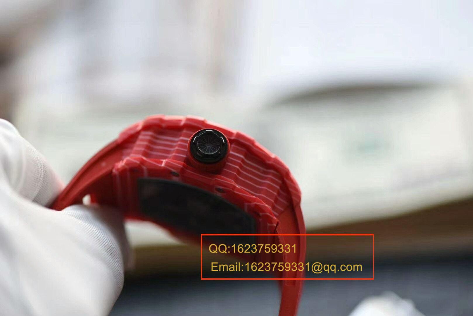 【视频评测KV厂一比一超A高仿手表】RICHARD MILLE理查德.米勒男士系列红蜘蛛~RM035-02 / RMBF35-02