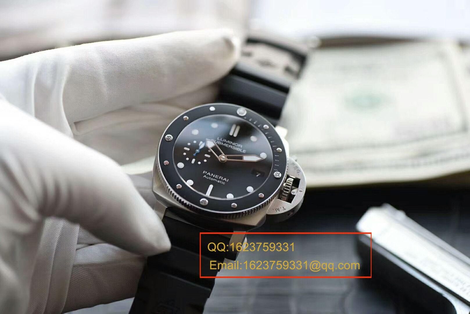 【视频评测XF厂一比一超A高仿手表】沛纳海LUMINOR 1950系列PAM00684A腕表 / XFB0PAM00684A