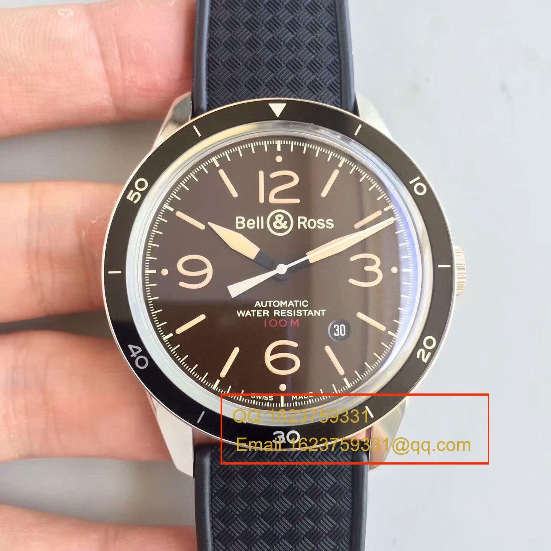 【BM1:1顶级精仿手表】柏莱士VINTAGE 系列BR 123 SPORT HERITAGE腕表《正皮表带》 / BLS009