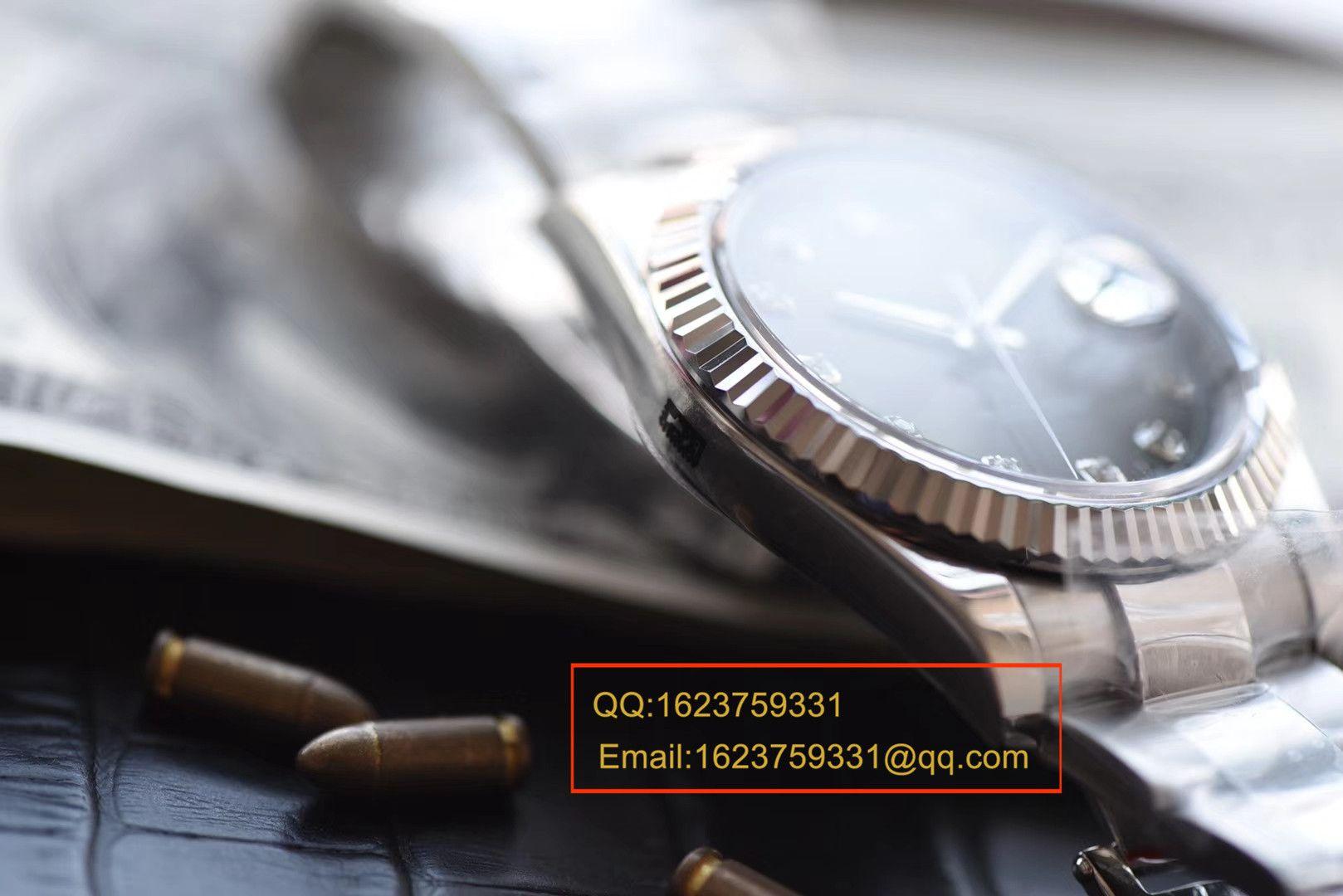【视频评测NOOB厂1:1高仿手表】劳力士日志型系列M126334-0005腕表 / RBD071