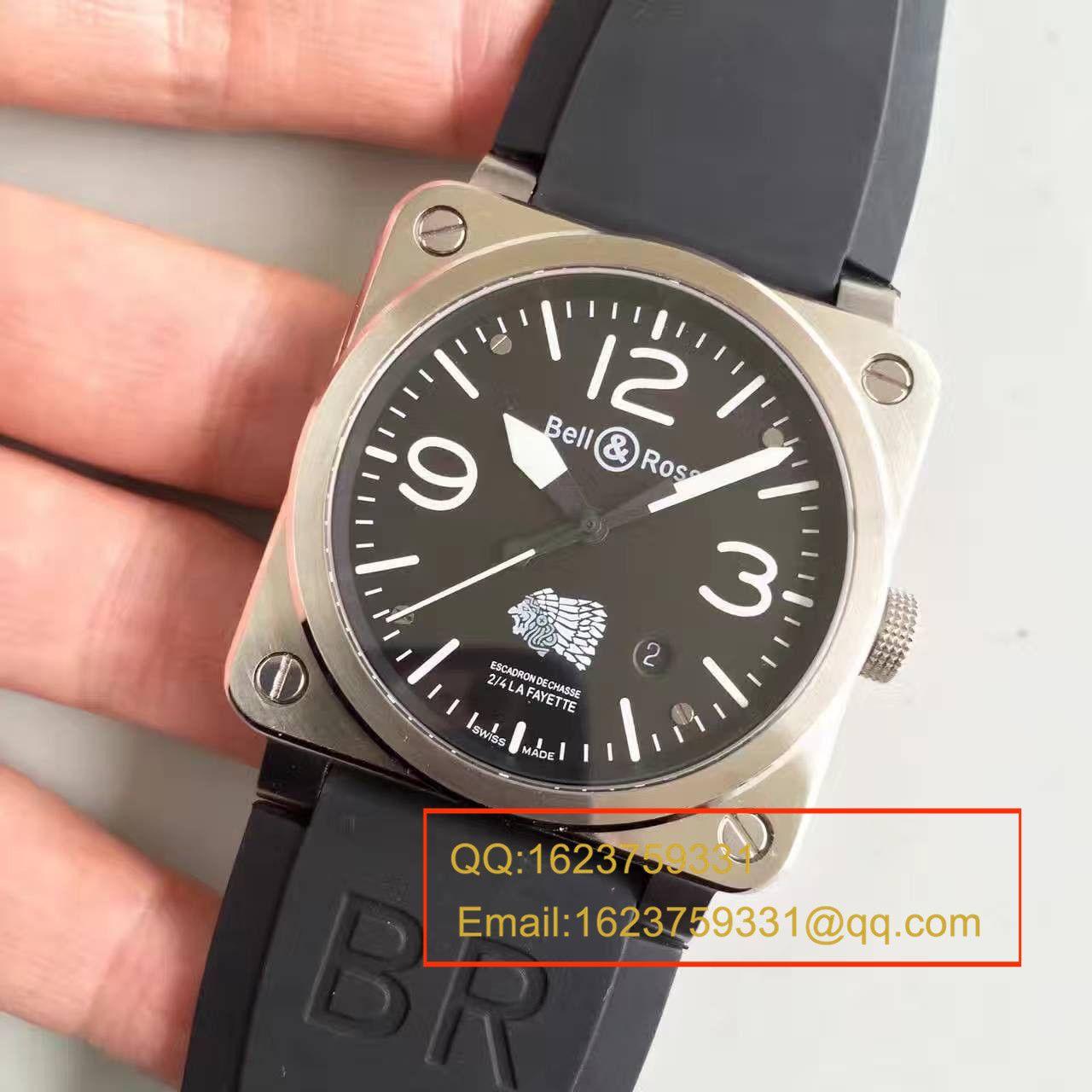 【BR一比一精仿手表】柏莱仕美军指定军表品牌印地安人头像 专属特别版腕表 BR03-92 / BLS013