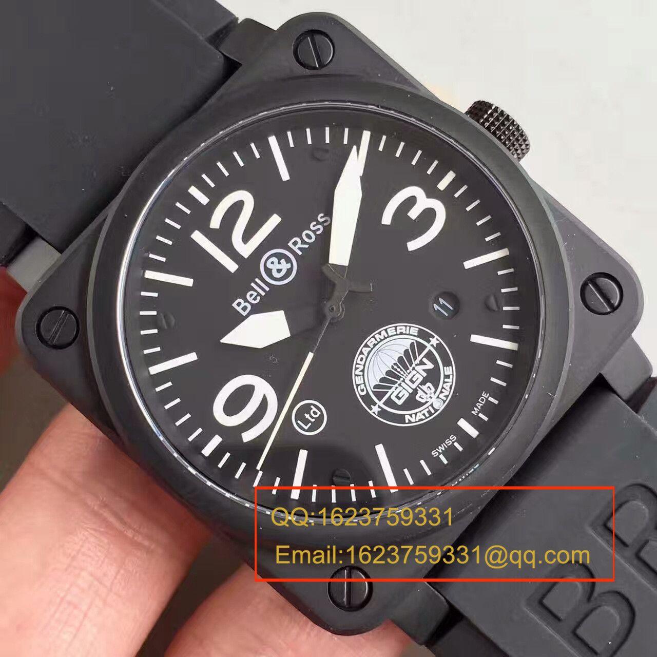 【BR一比一高仿手表】柏莱仕法国国家宪兵特勤队设计制造GIGN 专属特别版腕表 BR03-92 / BL012