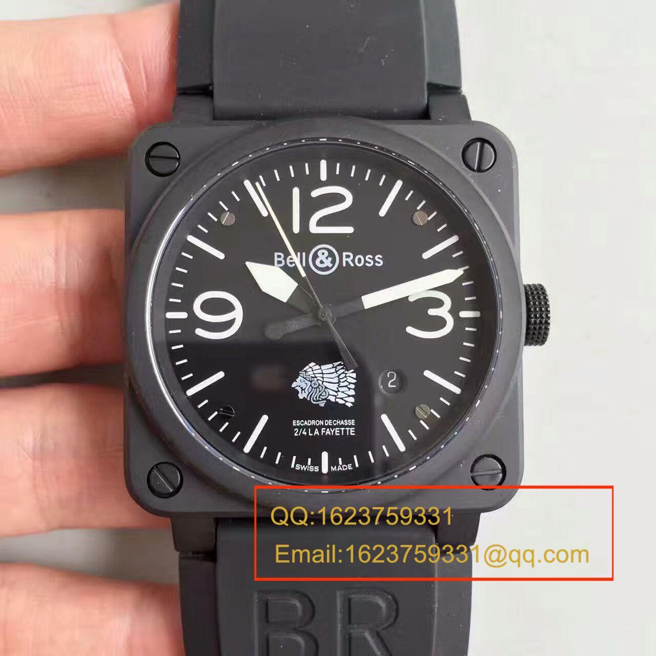 【BR厂一比一精仿仿手表】BR柏莱仕法国国家宪兵特勤队设计制造GIGN专属特别版腕表 BR03-92 / BL011
