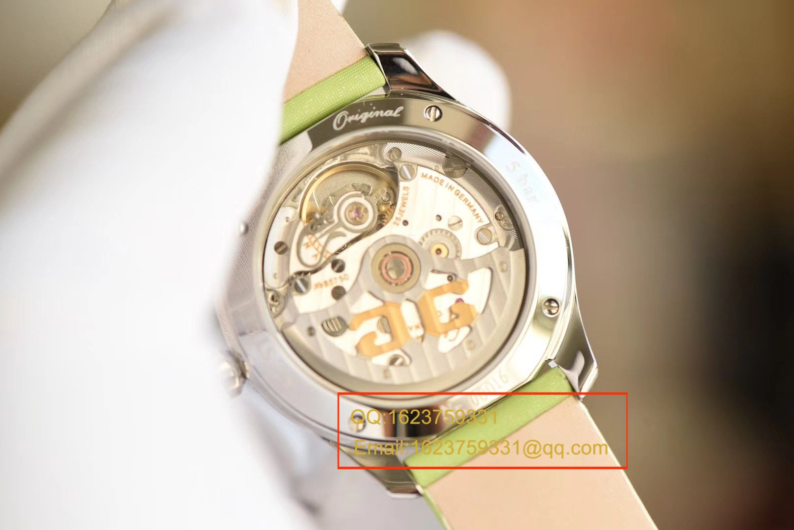 【FK一比一超A精仿手表】格拉苏蒂原创女表系列 1-39-22-12-02-04腕表 / GLA046