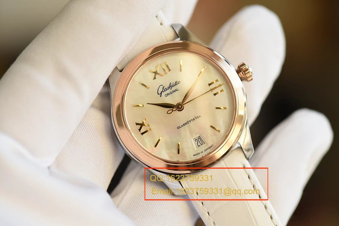 【FK厂一比一超A高仿手表】格拉苏蒂原创女表系列1-39-22-09-11-04腕表 / GLA047