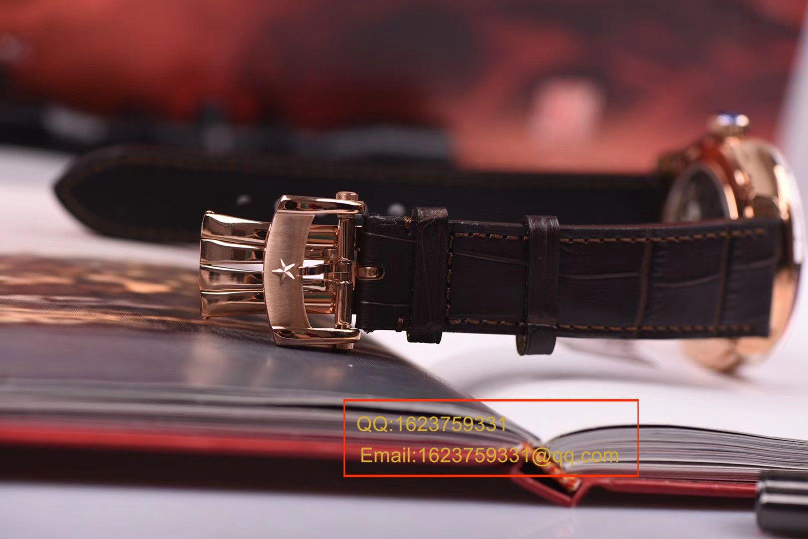 【视频评测】BM厂一比一超A高仿真力时ACADEMY系列镂空玫瑰金陀飞轮腕表 / ZSLEA038