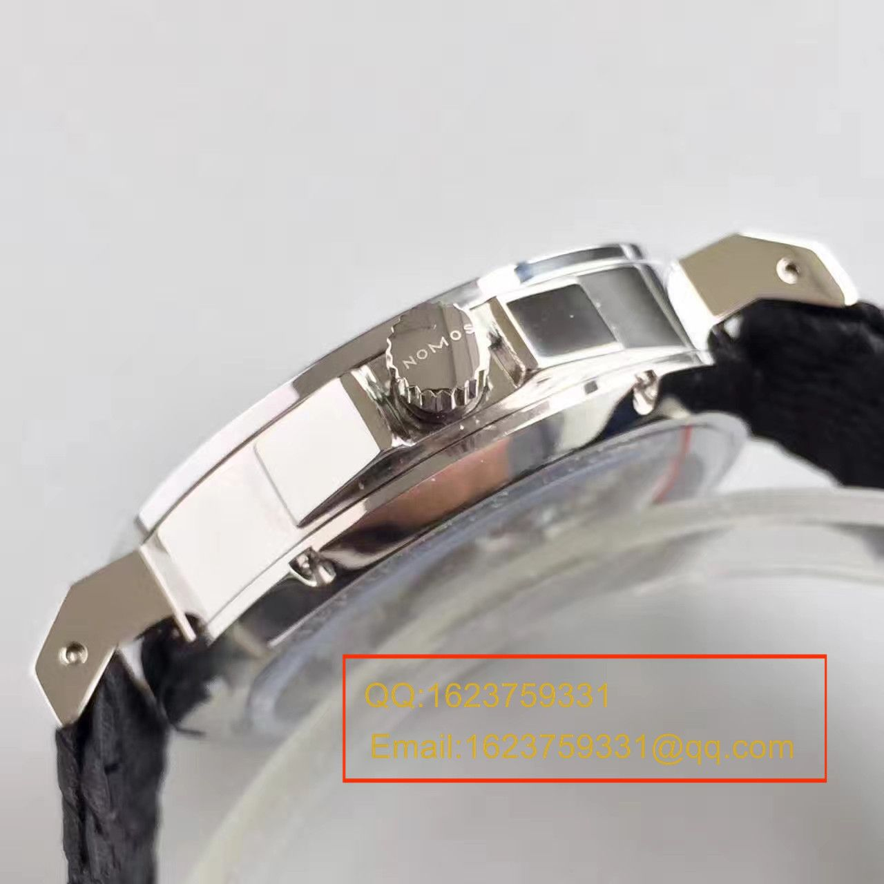 【OS厂一比一顶级复刻手表】NOMOS(诺莫斯)Ahoi系列 550/551/552/553首款潜水表搭配尼龙带腕表 / NO001
