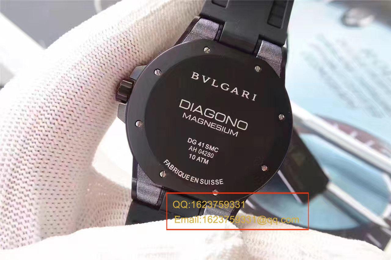 【GF厂一比一超A精仿手表】宝格丽DIAGONO系列102307 DG41C14SMCVD腕表 / BGB0013