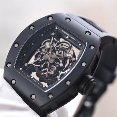 【独家视频评测KV一比一超A高仿手表】理查德.米勒RICHARD MILLE男士系列RM 055腕表