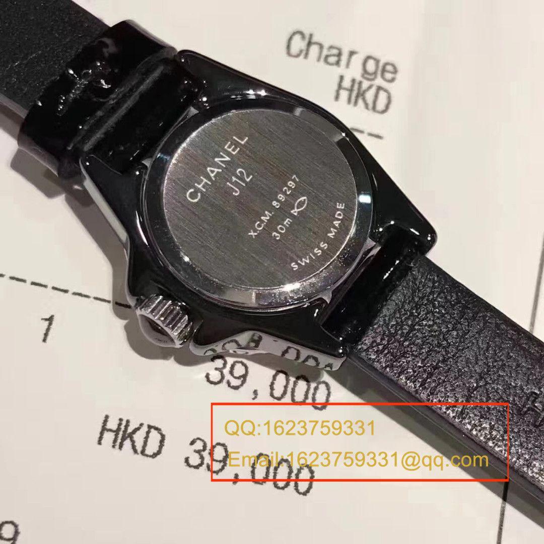 【视频评测原单正品】全明星J12 粉  香奈儿的陶瓷系列女士腕表 / XBAE016