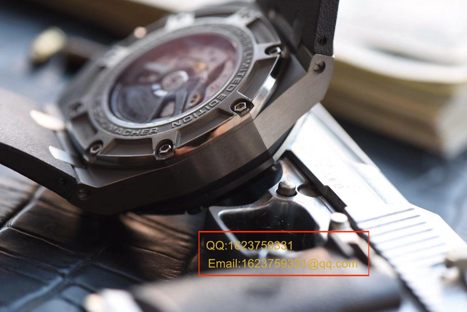 【独家视频评测JF厂1:1顶级复刻手表】爱彼舒马赫特别版本26568IM.OO.A004CA.01男表 / JFAP26568IM